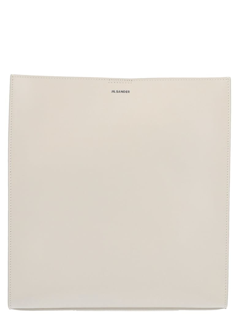 Jil Sander 'tangle' Bag - White