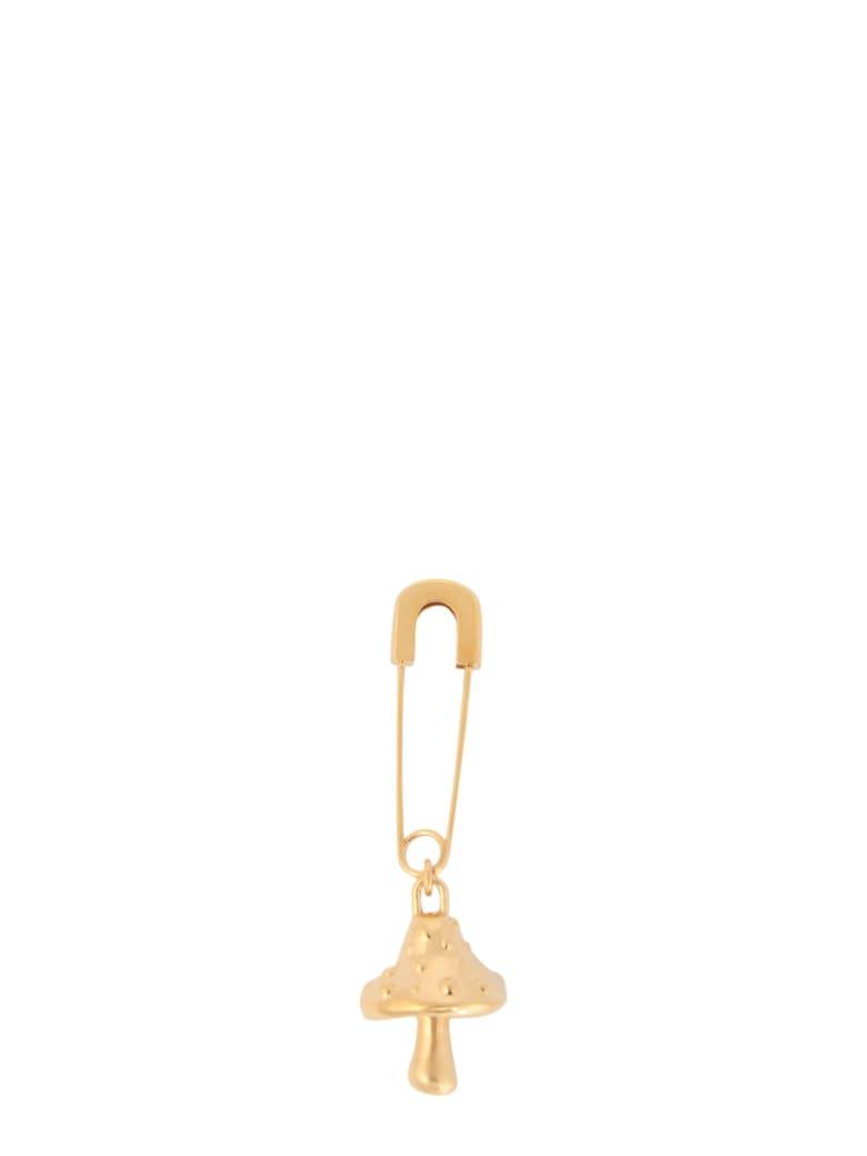 AMBUSH Earrings With Mushroom Pendant - ORO