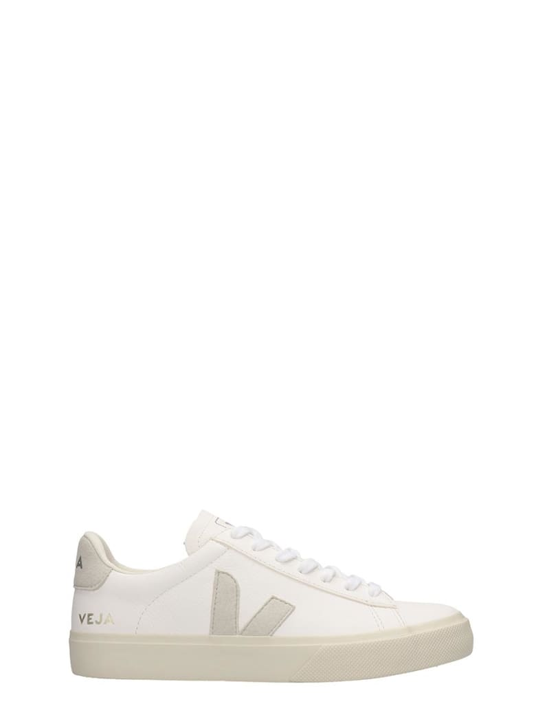 Veja Campo Easy Sneakers In White Leather - white