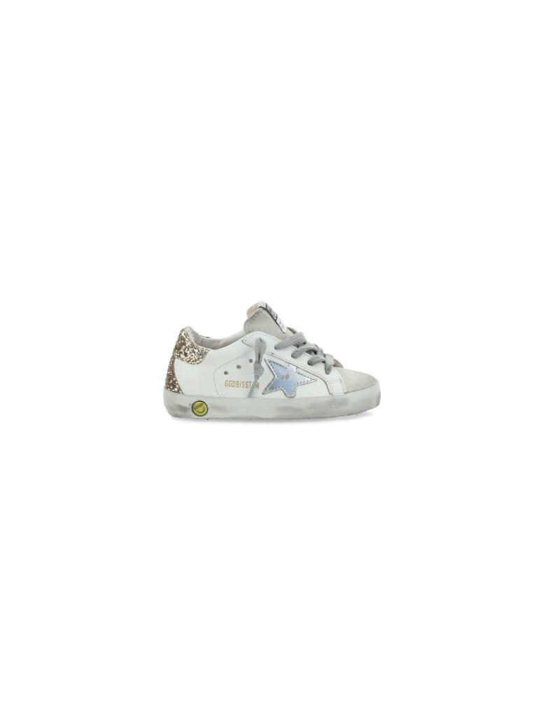 Golden Goose Super Star Sneakers For Girl - White
