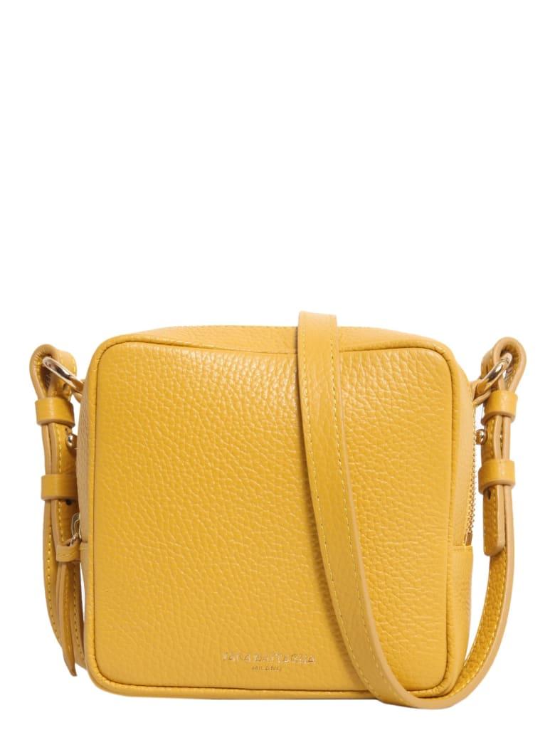 Sara Battaglia Cube Crossbody Bag - GIALLO