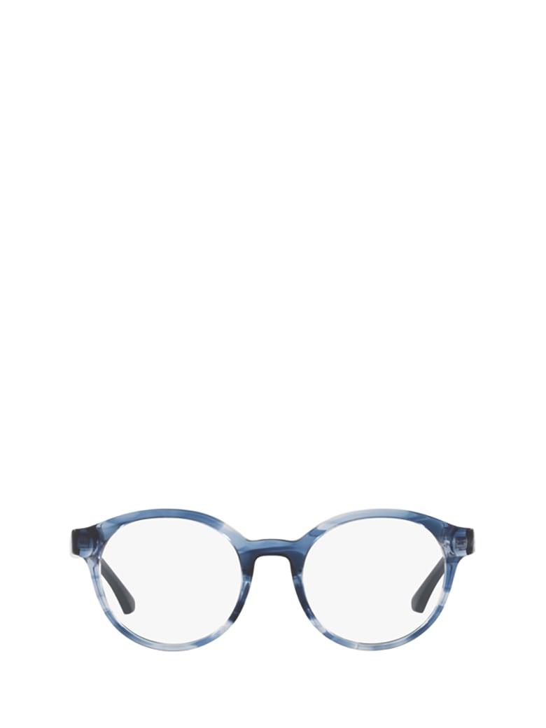 Emporio Armani Emporio Armani Ea3144 Blue Havana Glasses - 5728