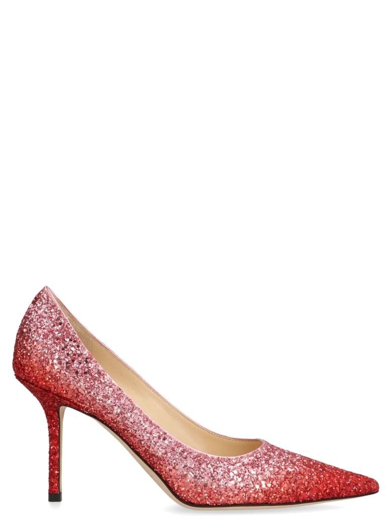 Jimmy Choo 'love' Shoes - Red