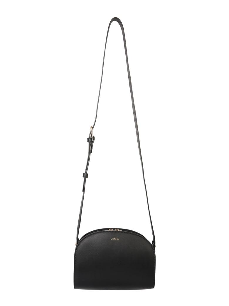 A.P.C. Mini Demi Lune Bag - NERO