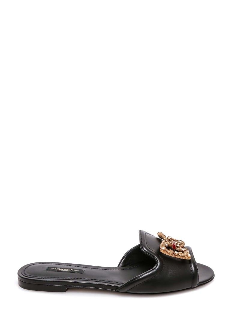Dolce & Gabbana Sandals - Black