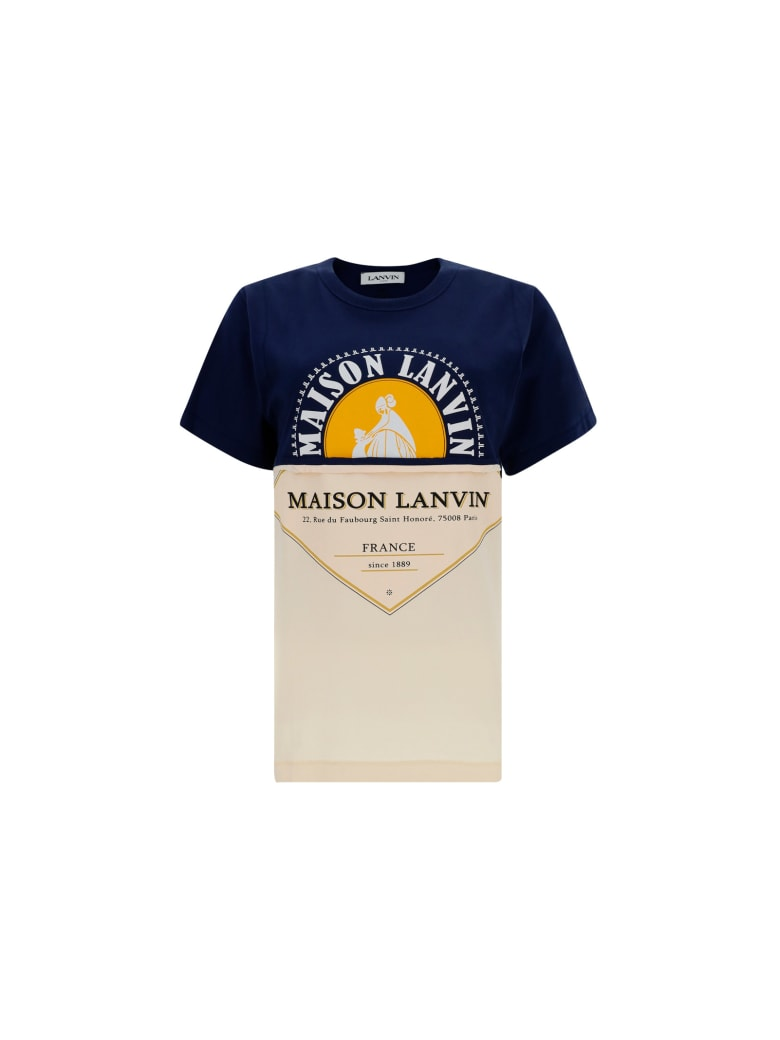 Lanvin T-shirt - Navy blue