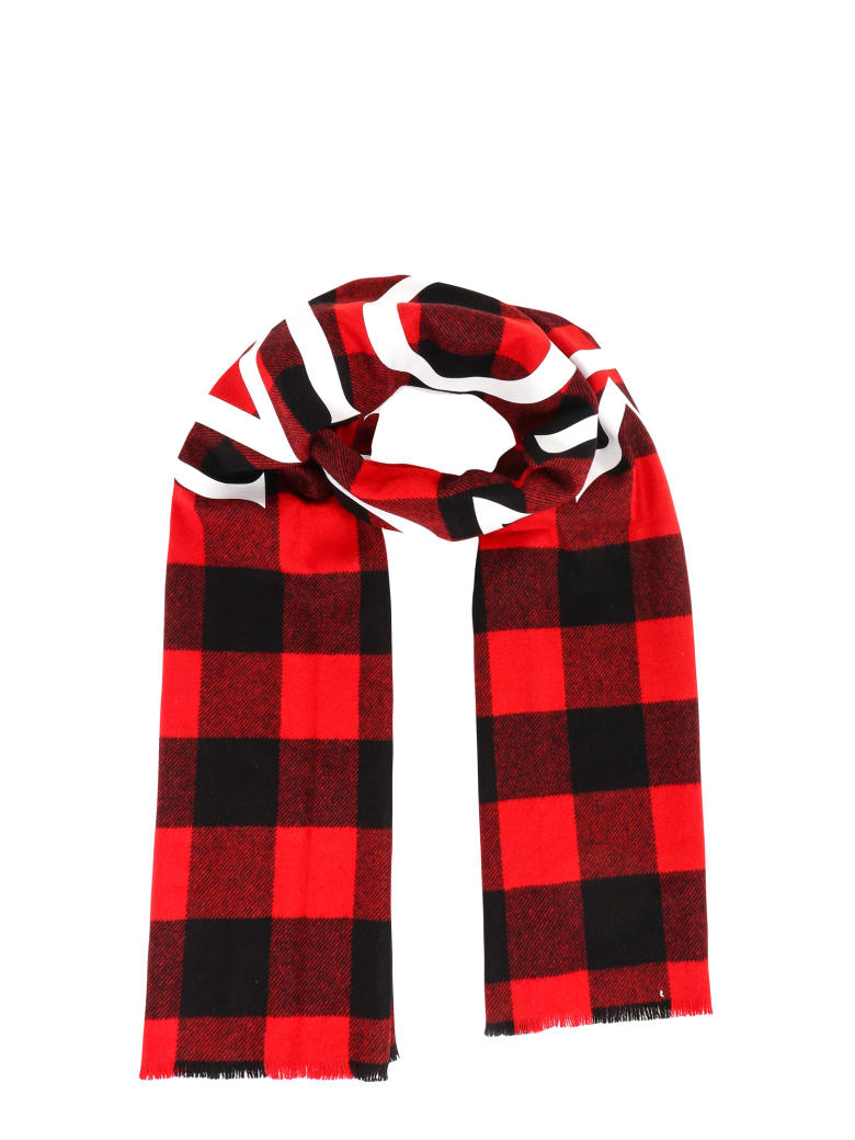 Moncler Scarf - Red