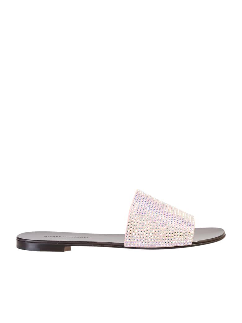 Giuseppe Zanotti Embellished Sandals - Metallic