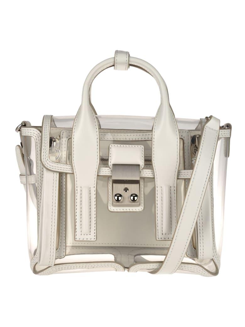 3.1 Phillip Lim Phillip Lim Transparent Pashli Mini Tote - ANT.WHITE