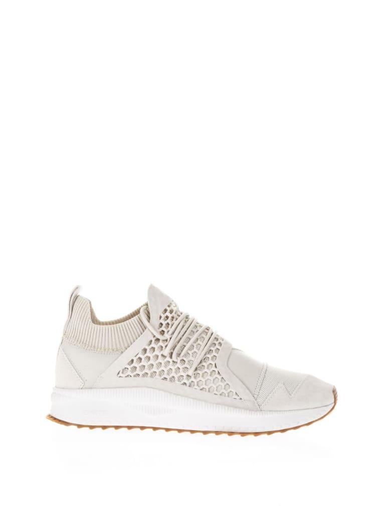 Puma X Han Kjobenhavn Han Silver Birch Leather & Knit Sneakers - Nude