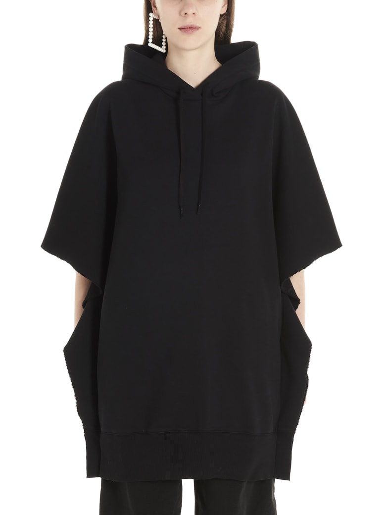 MM6 Maison Margiela Hood Dress - Black