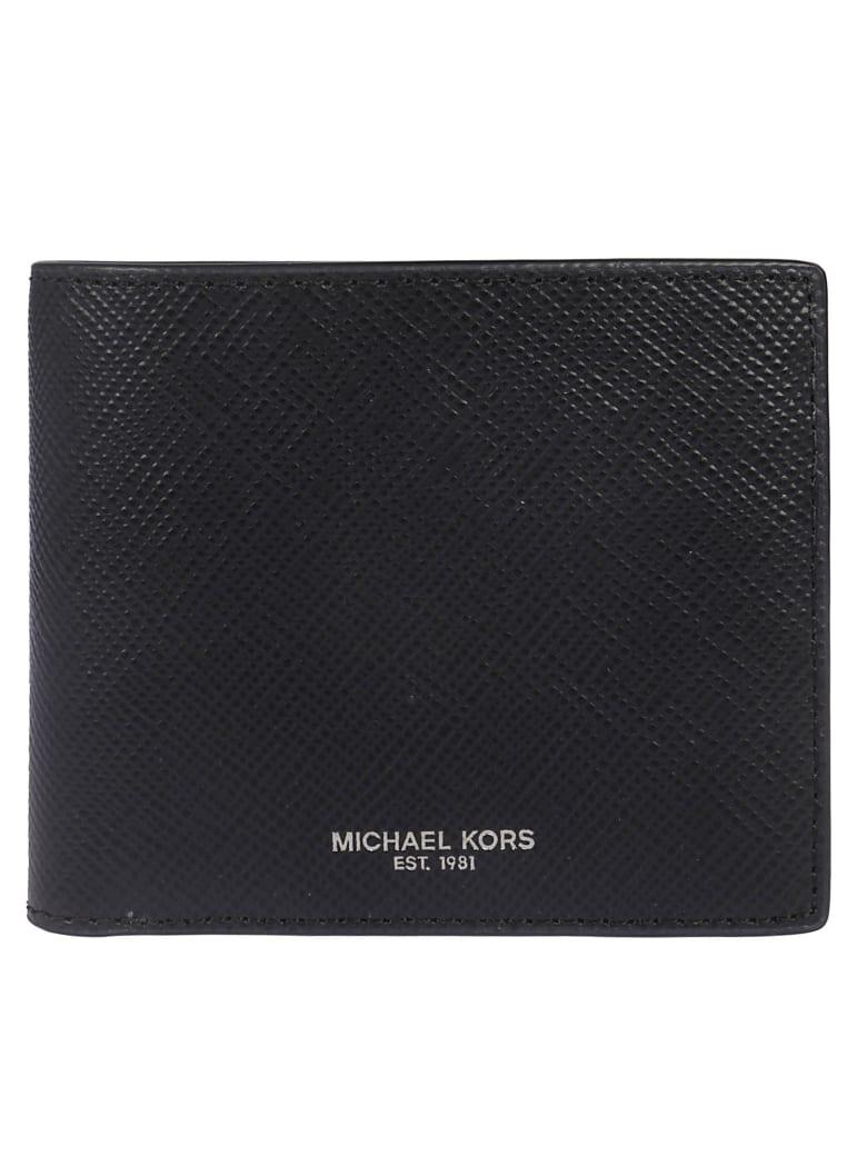 Michael Kors Logo Stamp Wallet - black