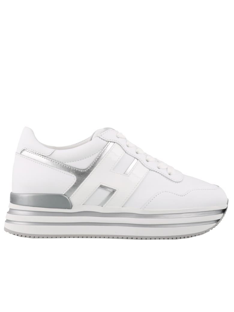 Hogan Sneaker Midi H222 Multicolor - Bianco e Argento