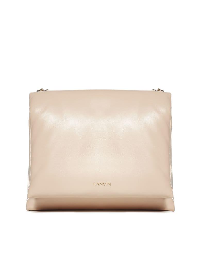 Lanvin Sugar Nappa Leather Small Bag - Blush