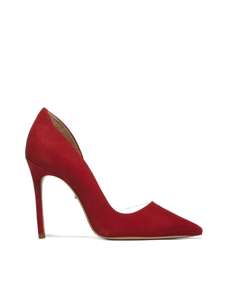 Schutz High-heeled shoe - Red transparent
