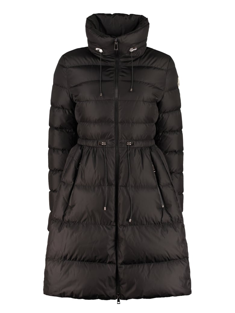 Moncler Malban Long Down Jacket - black
