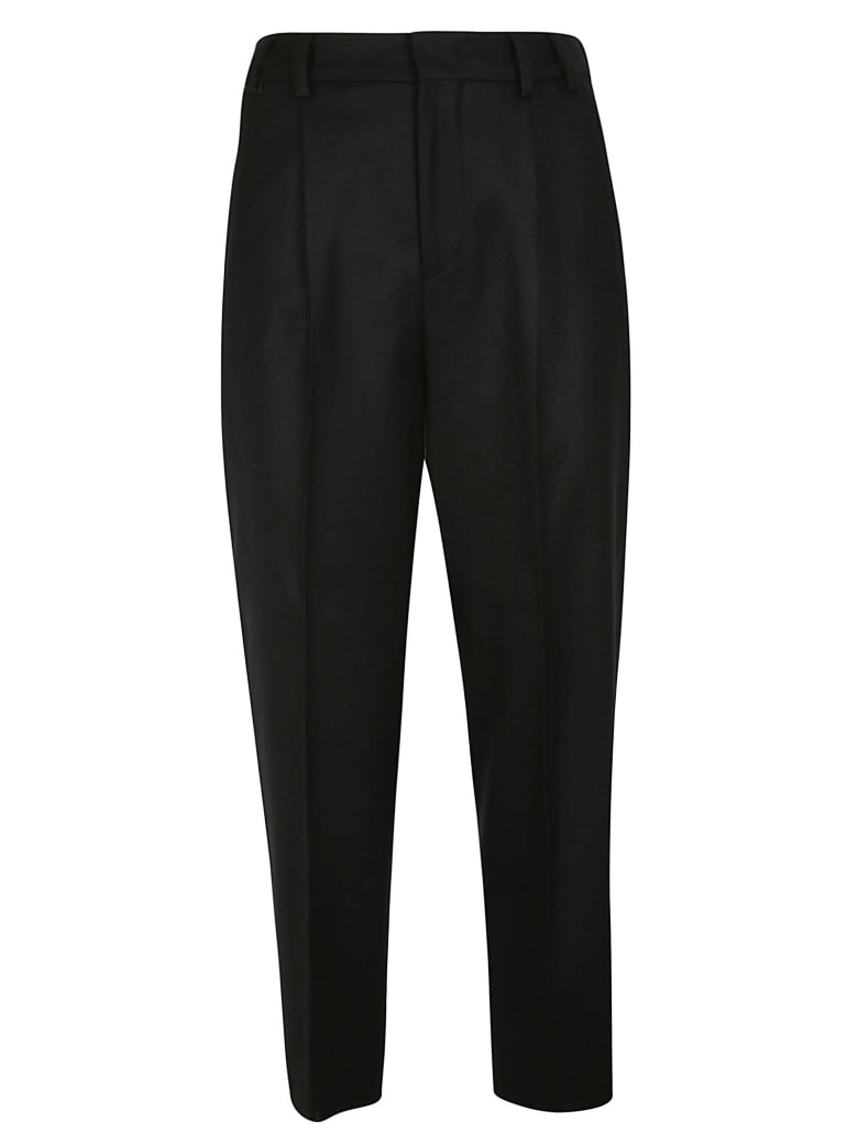 PT01 Cropped Trousers - Black