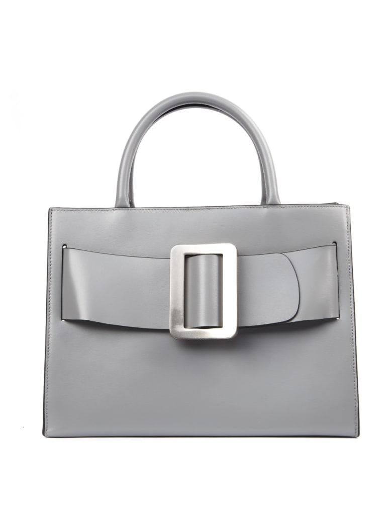BOYY Grey Leather Bobby Bag - Grey