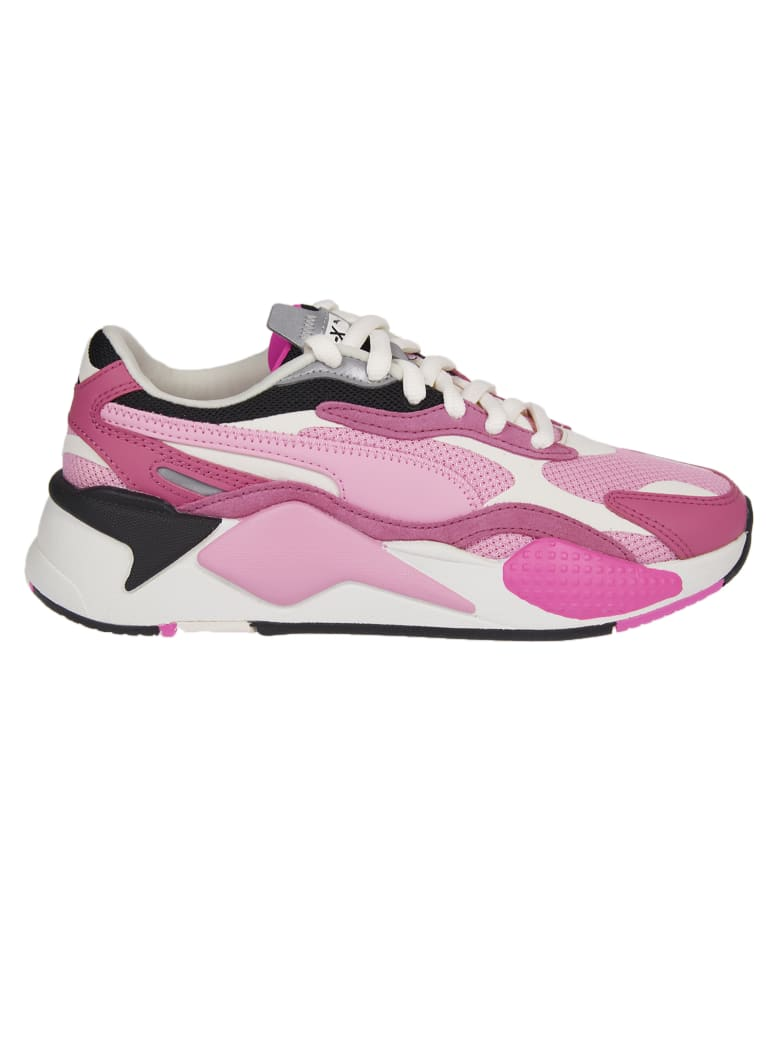 Puma Pink Puzzle Rs x Sneakers