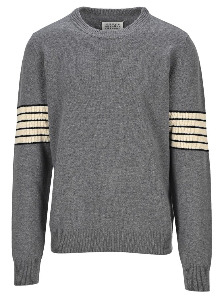 Maison Margiela Martin Margiela Stripe Sweater - GREY