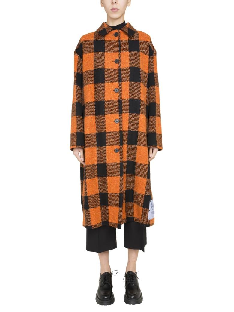 McQ Alexander McQueen Long Coat - ARANCIONE
