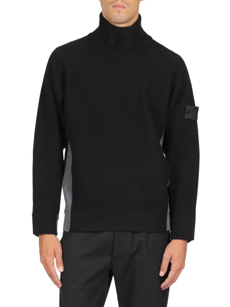Stone Island Shadow Project Sweater - Nero/grigio