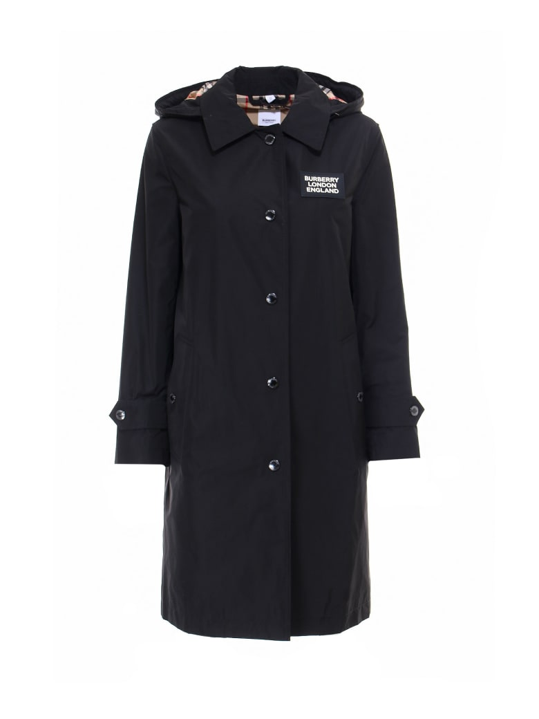 Burberry Raincoat - Black