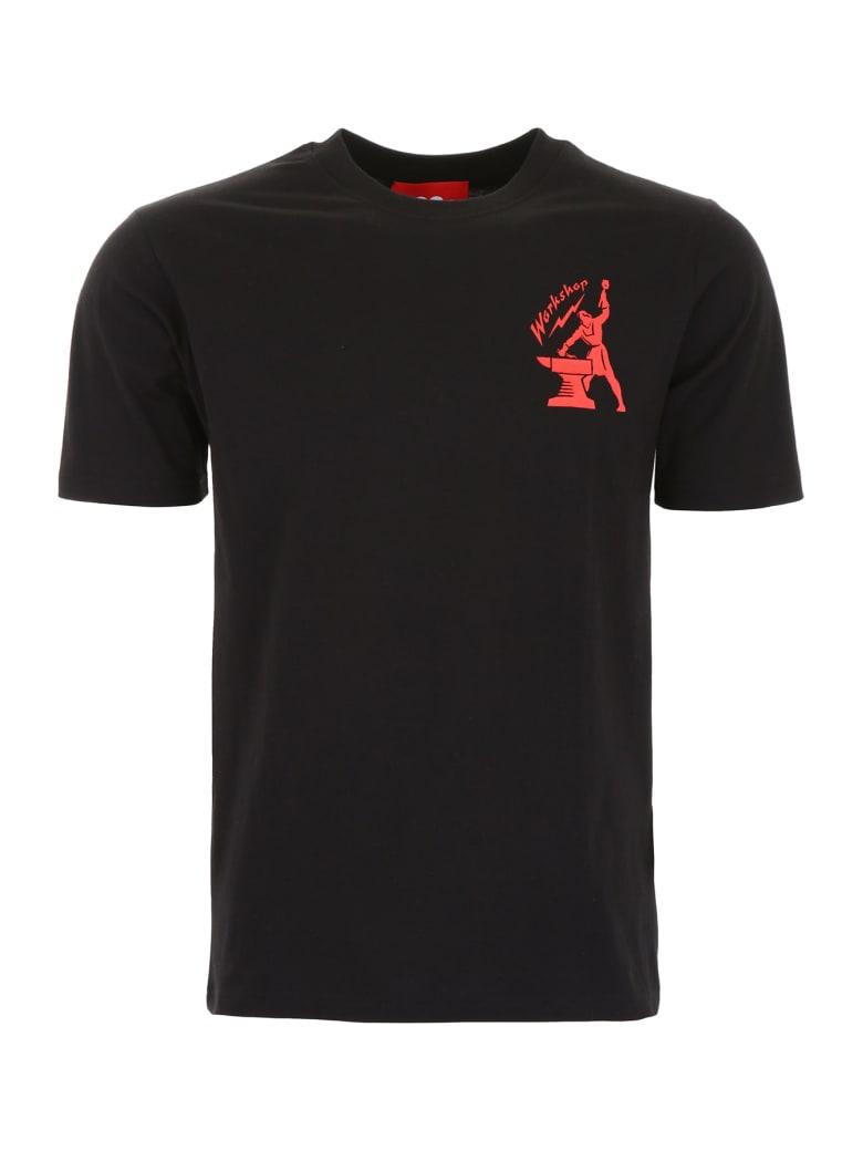 032c Workshop T-shirt - BLACK (Black)