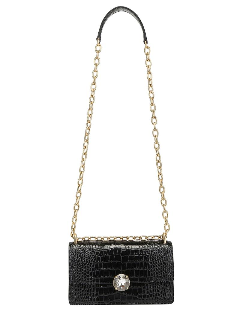 Miu Miu Miu Solitaire Shoulder Bag - Nero