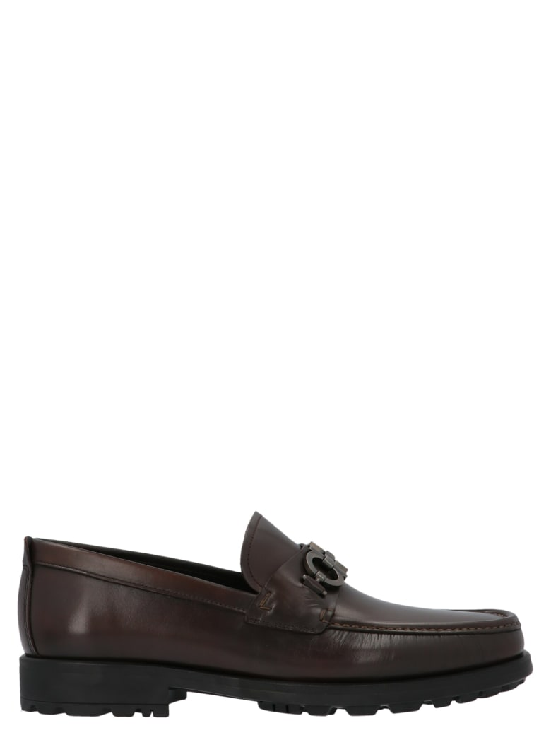 Salvatore Ferragamo 'david' Shoes - Brown