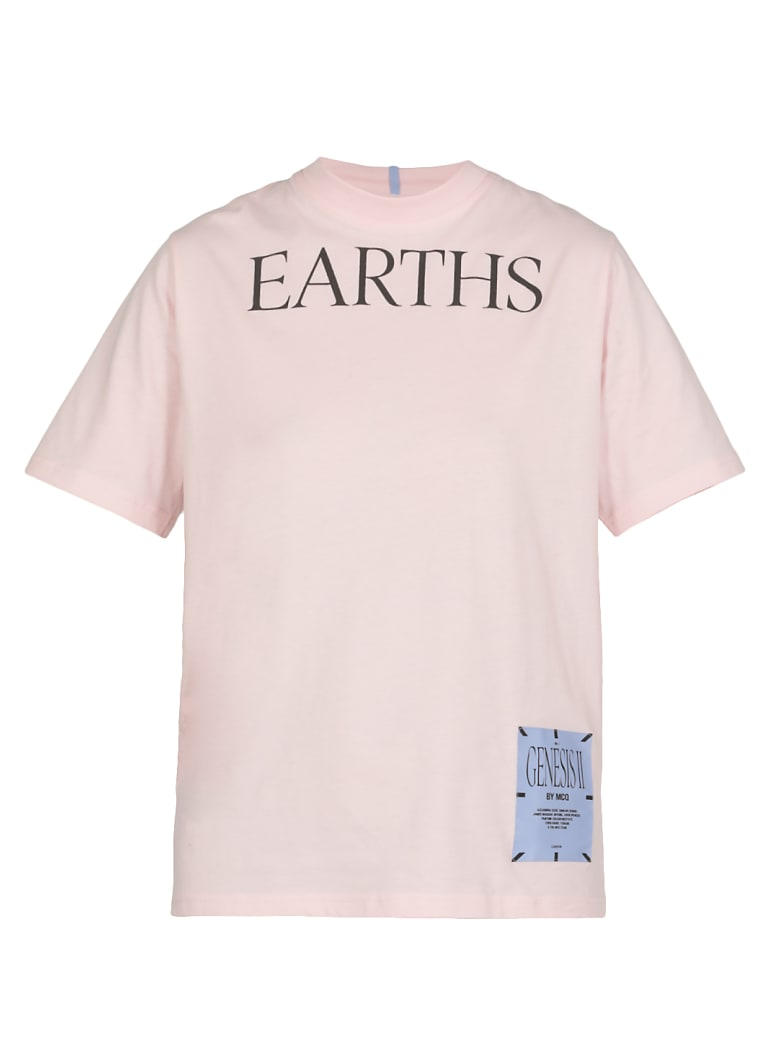 McQ Alexander McQueen Earths T-shirt - PINK CLAY