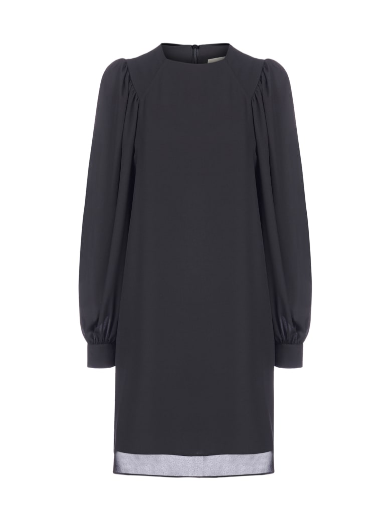 Blanca Vita Altea Georgette Dress - Onice