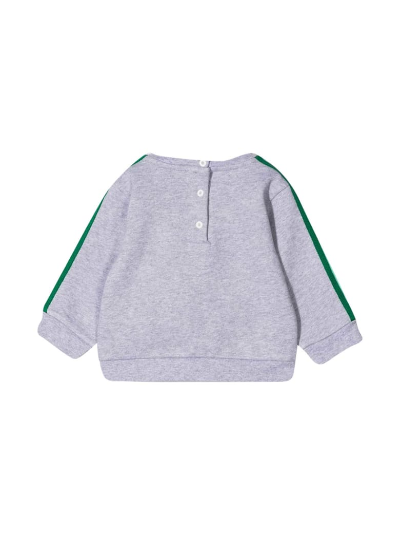 Fendi Gray Sweatshirt - Grigio/verde