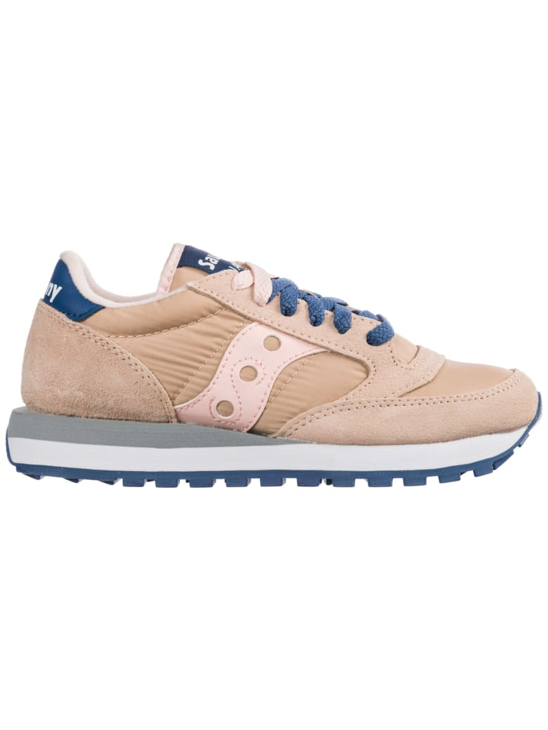 Saucony  Shoes Suede Trainers Sneakers Jazz O - Rosa