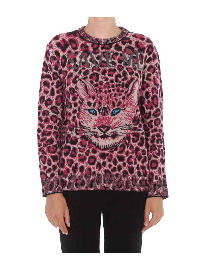 taglia 40 c8db6 8ff24 Best price on the market at italist | Alberta Ferretti Alberta Ferretti  Love Me Wild Pullover
