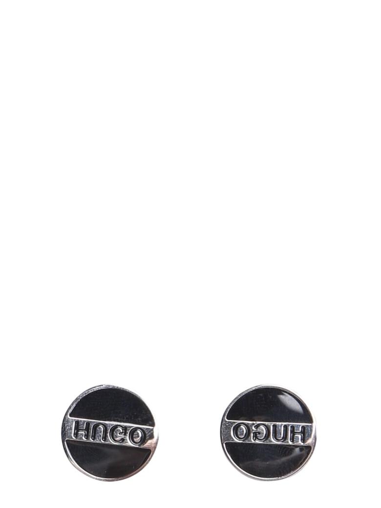 Hugo Boss Round Cufflinks - NERO