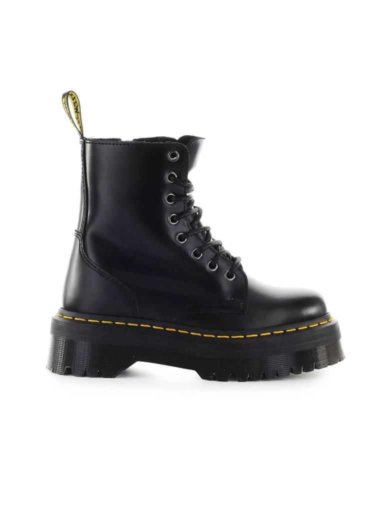 Dr. Martens Jadon Smooth Black Boot - Black (Black)