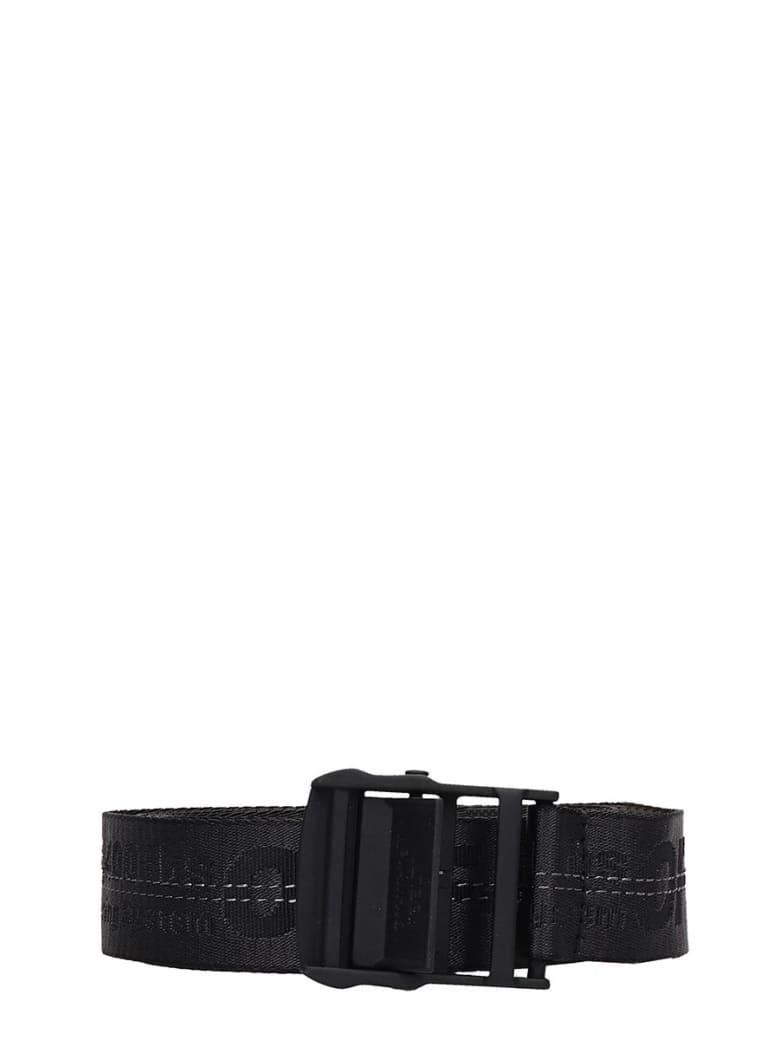 Off-White Industrial Belt Belts In Black Tech/synthetic - black