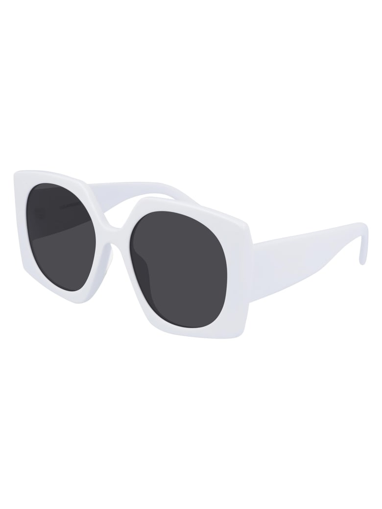 Courrèges CL1907 Sunglasses - White White Grey