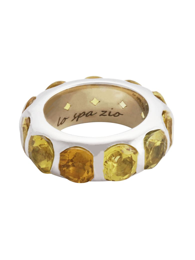 Lo Spazio Jewelry Lo Spazio Yellow Beryl Ring - Yellow
