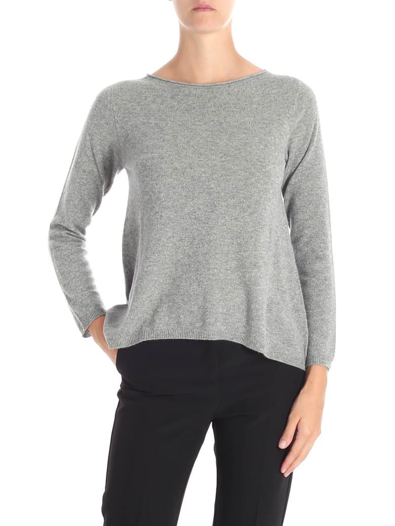 Kangra Cashmere Sweater - Steel