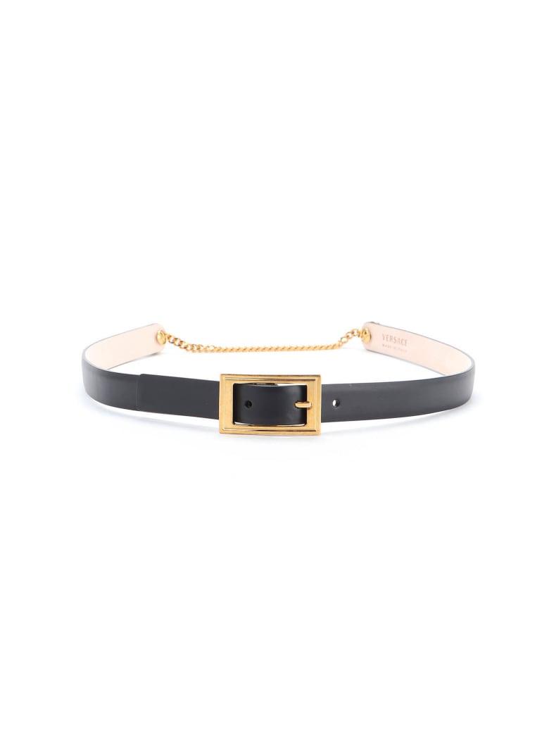 Versace Belt - Ot Nero
