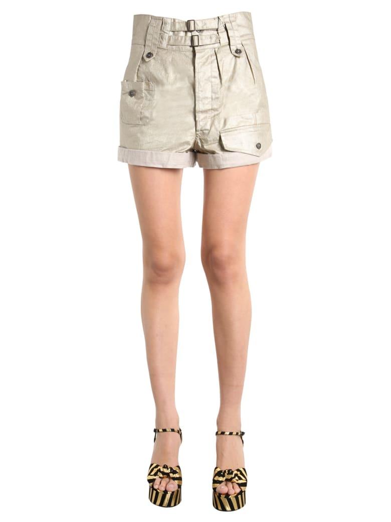 Saint Laurent Cargo Shorts - Beige or