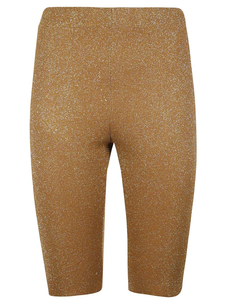 Circus Hotel Embellished Short Leggings - Brown