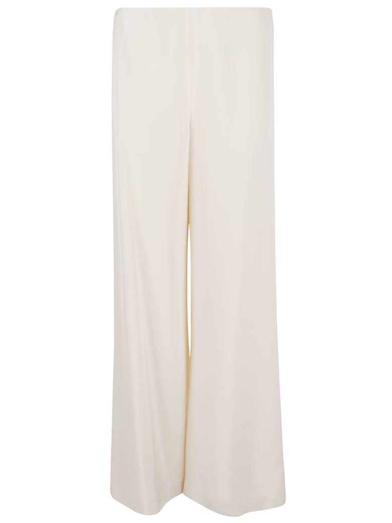 Ralph Lauren Black Label Daria-wide Leg-pant - Cream Crepe