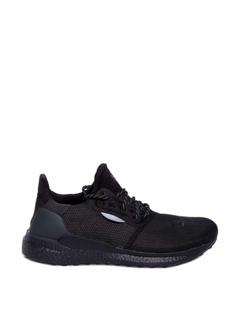 Adidas by Pharrell Williams Pw Solarhu Prd Sneakers - Black