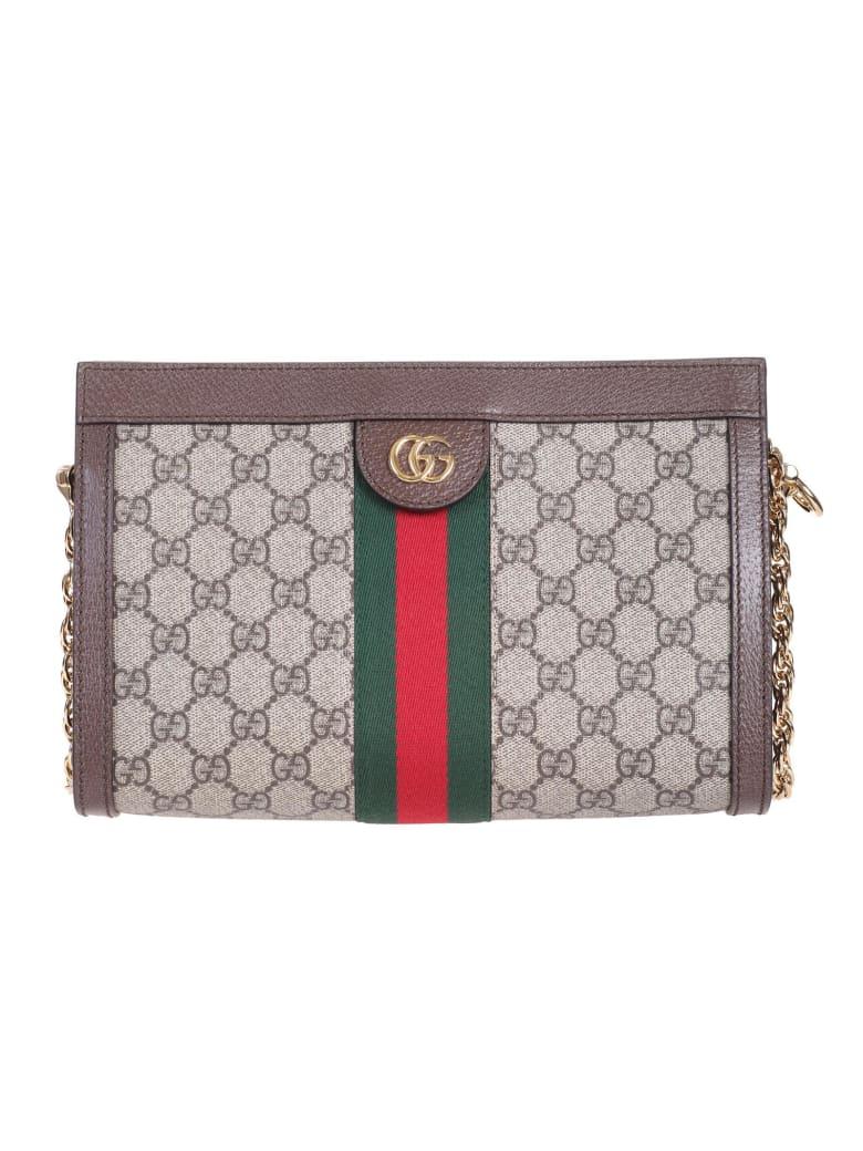 """Gucci """"Ophidia"""" shoulder bag - Beige"""