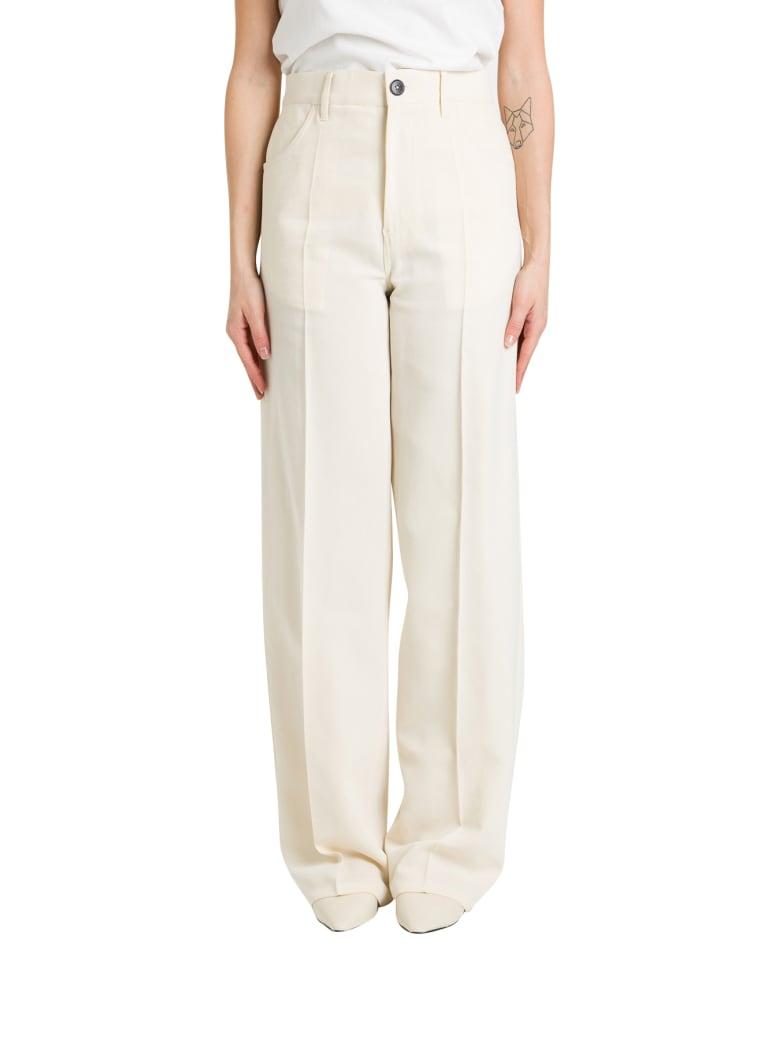 Jil Sander Murphy Trousers - Bianco