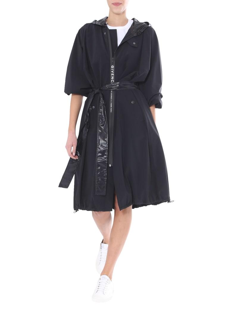 Givenchy Hooded Wind Jacket - NERO