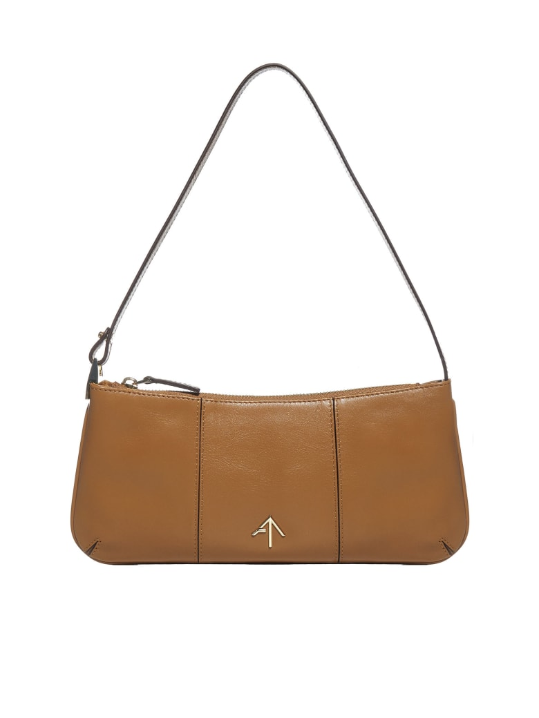 MANU Atelier Pita Leather Bag - Sand